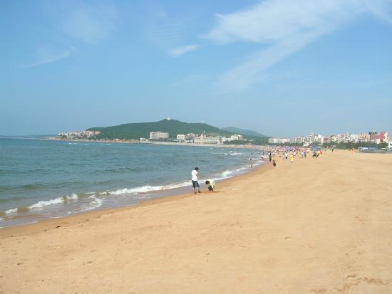 Weihai International Bathing Beach: 海边