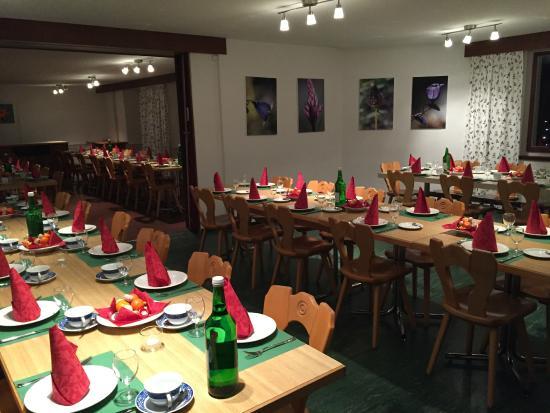 Filisur, สวิตเซอร์แลนด์: 大餐厅