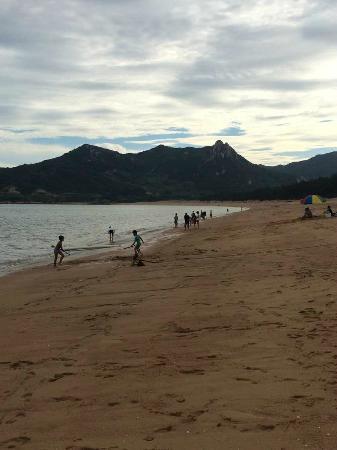 Xiapu County, China: 沙滩