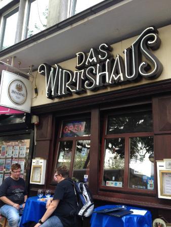Das Wirtshaus: 小小的门面