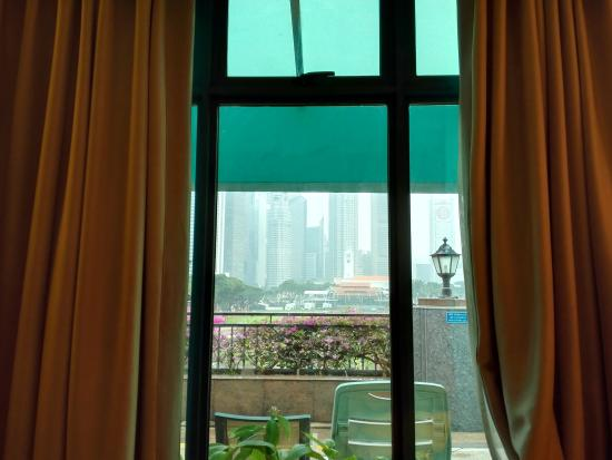 The Residence At Singapore Recreation Club: 窗外景观
