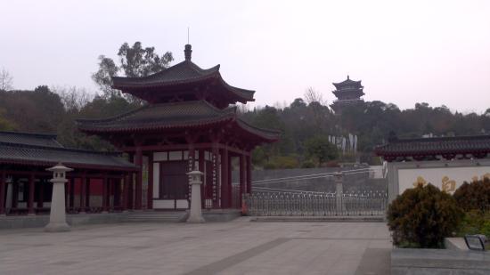 Jiangyou, China: 碑林景区
