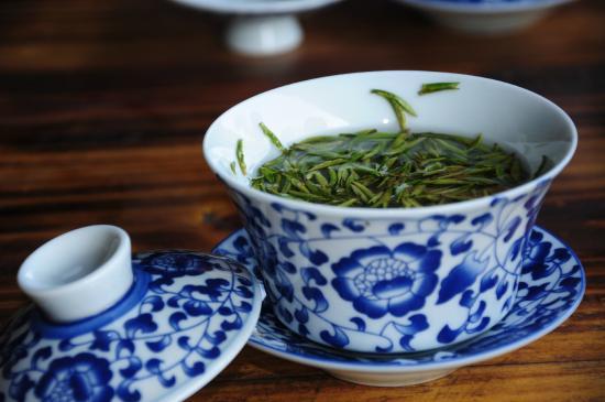 Changxing County, China: 品茶