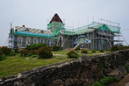 All-In House Theme Park : 修建的建筑物