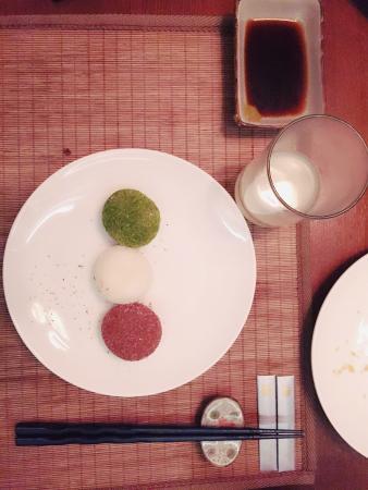 Taizhou, Kina: 摆盘很漂亮,但是味道还需改善。