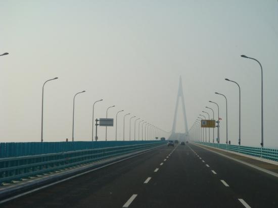 Haiyan County, China: 跨海大桥