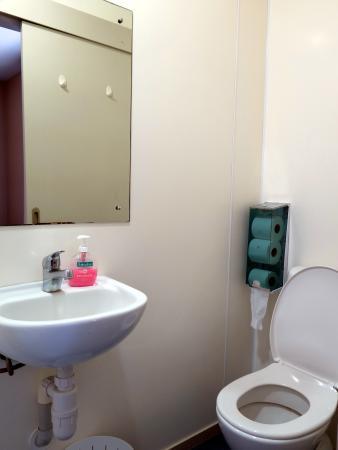 YHA Rotorua: 卫生间