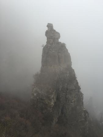Laiyuan County, Chine : 去了几次天气都不好