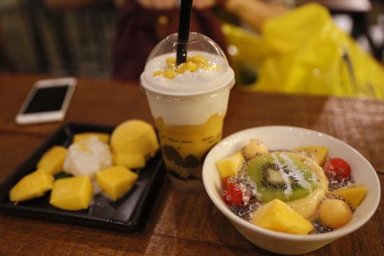这是在泰国吃的最好吃的甜点餐厅了,在曼谷和清迈都有
