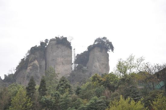 Jiangyou, China: 双峰