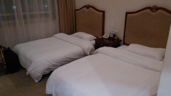 Chongqing Jiangbei Airport Hotel: 床