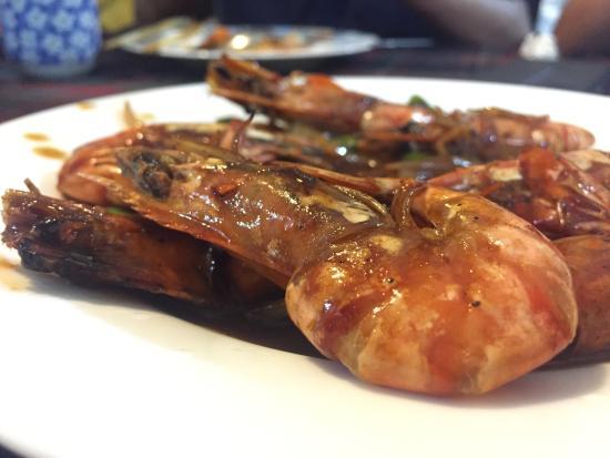 Chinese Globe Restaurant : 大虾