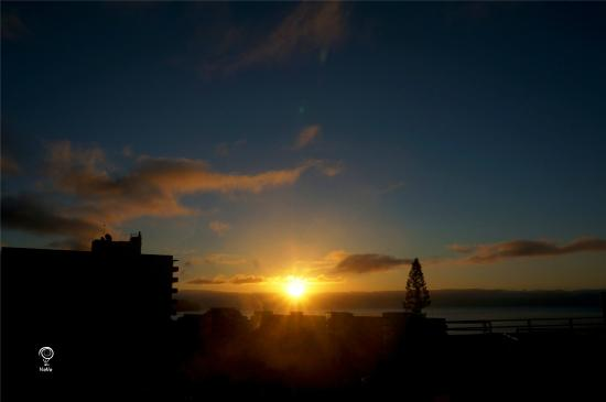 Lince Hotel Madeira: 酒店日出