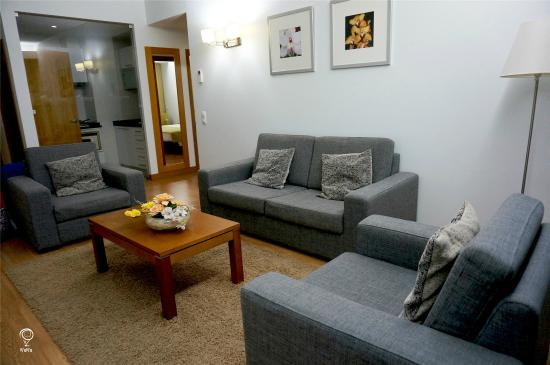 Lince Hotel Madeira: 客厅
