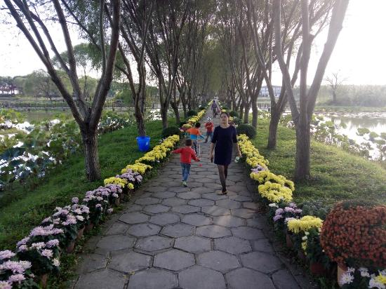 Honghu, China: 蓝田生态旅游风景区