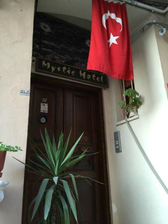 Mystic Hotel Front Door