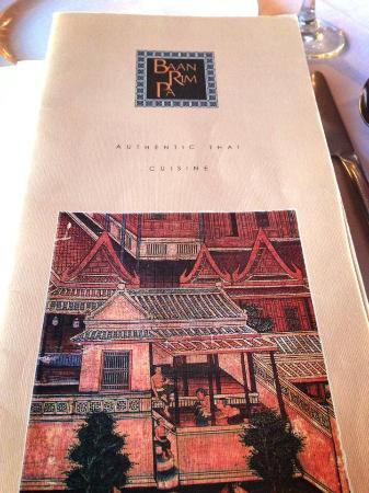 Baan Rim Pa: 餐牌