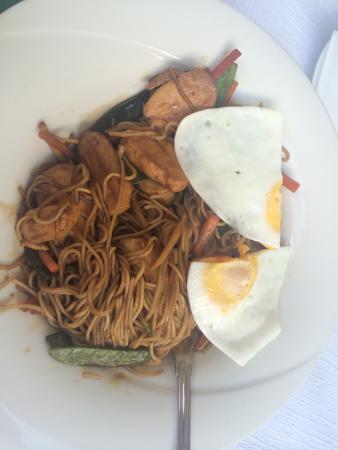 Restaurant Eiger: 鸭肉面条