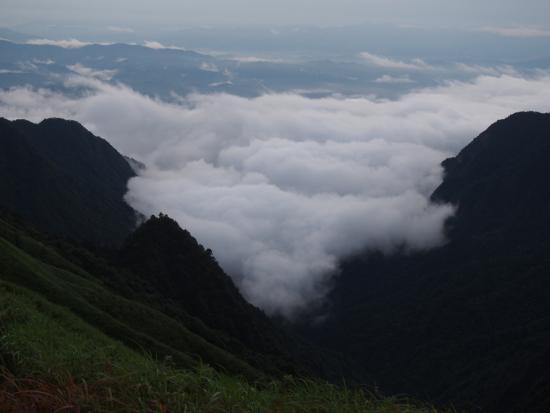 Wugong Mountain (Wu-kung) : 雨后云海