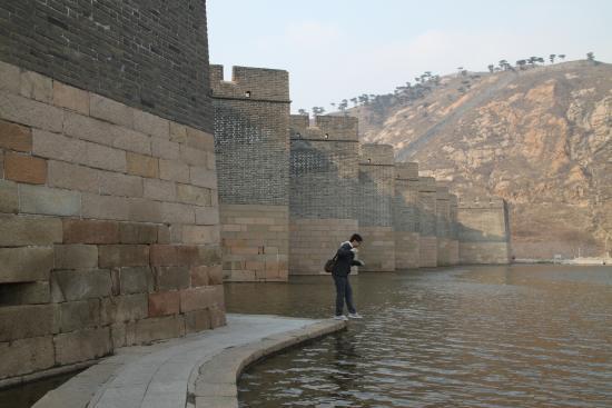 Suizhong County, China: 水上长城