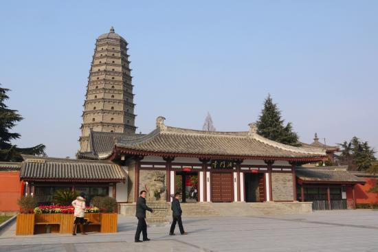 Fufeng County, China: 旧法门寺