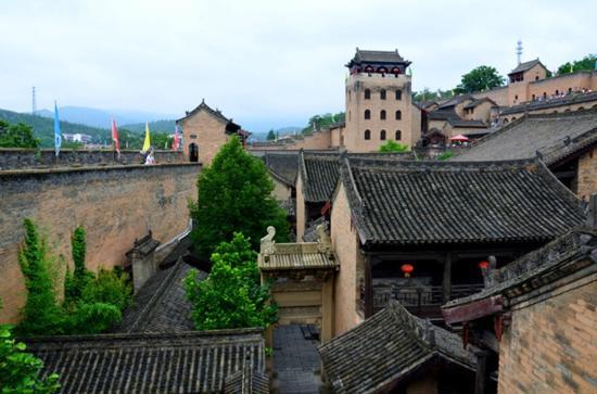 Yangcheng County, China: 景点一景。