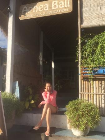 Tulamben, Indonesien: Anna@100次流浪在Apnea Bali