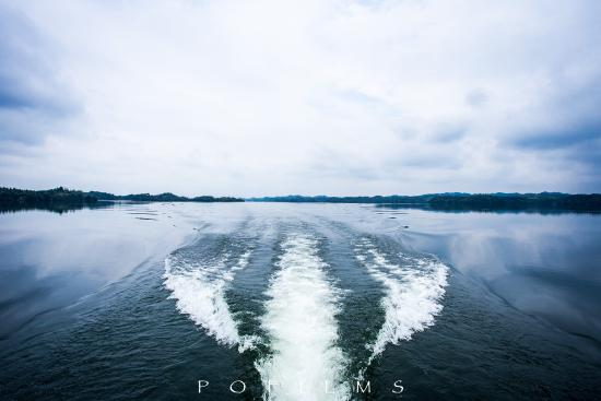 Gaoan, Cina: 快艇游湖