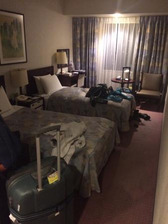 房间有点窄