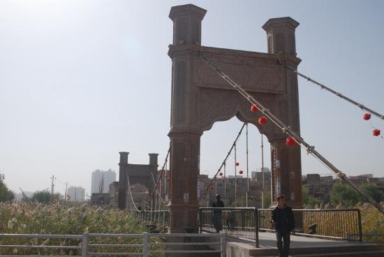 Kashi, Kina: 城外的石桥