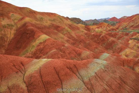 Linze County, China: 张掖丹霞地质文化公园