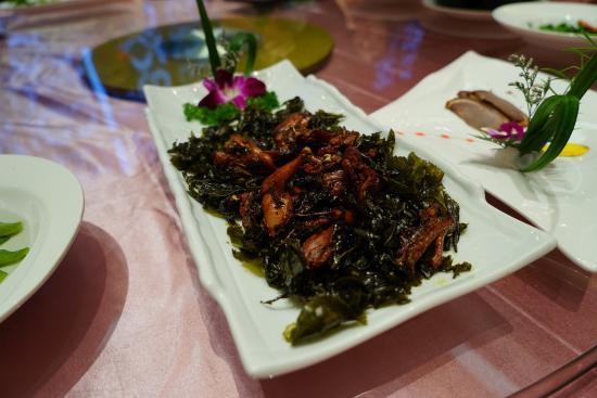 Yixing, Kina: 酒店晚饭