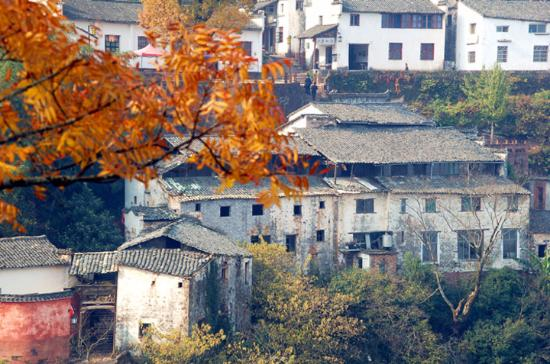 Xiuning County, China: 齐云山