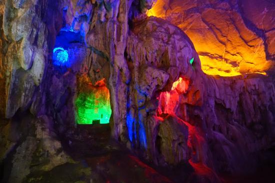 Shanjuan Hole: 善卷洞内