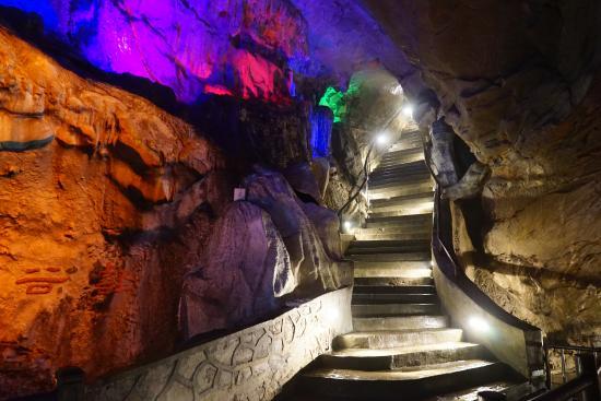 Shanjuan Hole: 溶洞内