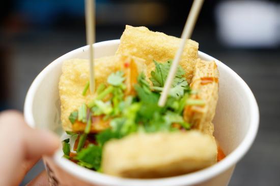 Jiaxing, الصين: 臭豆腐