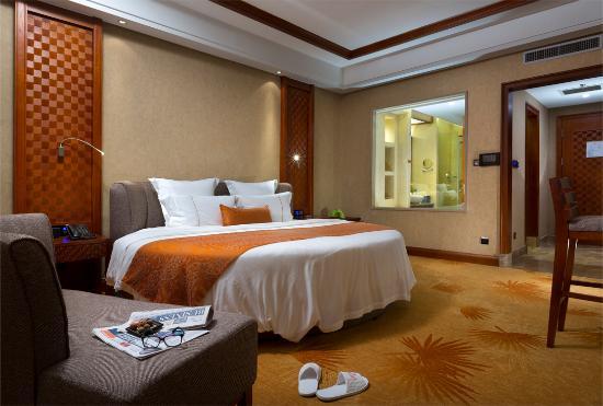 Jinghong, China: 经典大床房