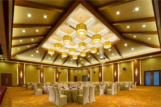 Jinghong, China: 宴会厅