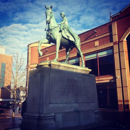 Coventry, UK: Lady Godiva Statue