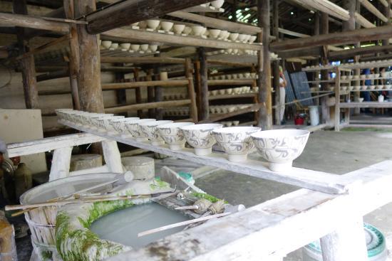 Jingdezhen, China: 陶瓷制作过程