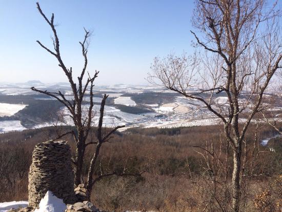 Yanji, China: 帽儿山国家森林公园