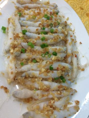 ZhenZhen Ji Restaurant: A Very Wonderful Meal!Sipunculus nudus!
