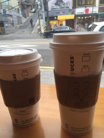 Starbucks Hongdae Gallery