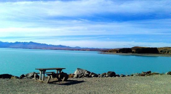 Twizel, Nueva Zelanda: 普卡基湖边