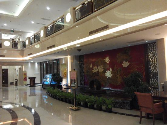 Jinlongtan Hotel: 大堂