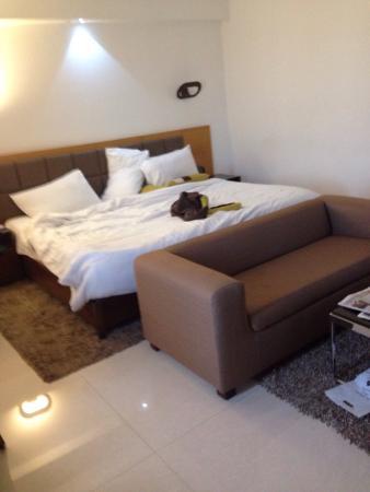 Hotel Suba International: 酒店设施不错..自助餐厅的东西不多但是价格便宜..也够吃了...服务生态度很好...