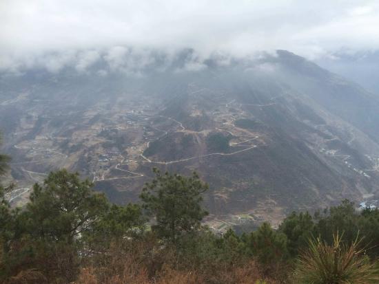 Tianquan County, China: 泸定这一面的二郎山