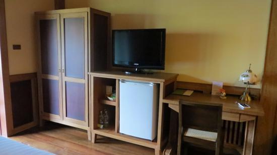 Baan U Sabai Boutique House: 因为太热,酒店有冰箱喔