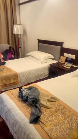 Yushan County, China: 房间还算比较大