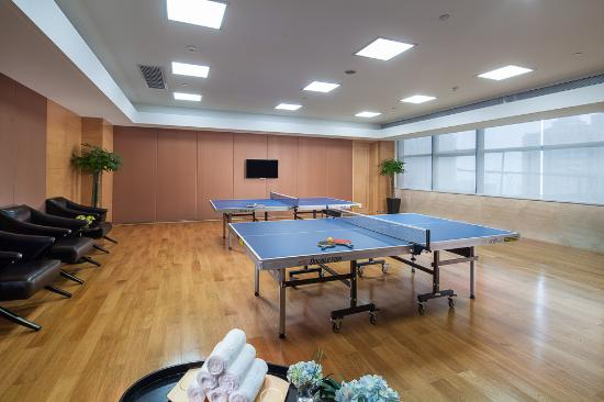 Table Tennis Room Picture of Regal Financial Center Hotel Foshan